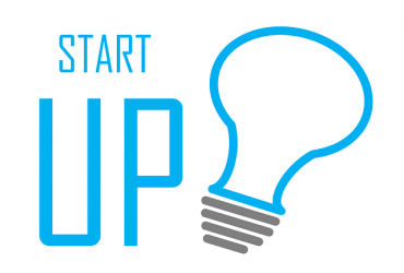 start up clip art with light bulb